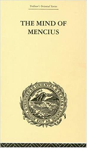 Book The Mind of Mencius: Political Economy Founded Upon Moral Philosophy (Trubner's Oriental)