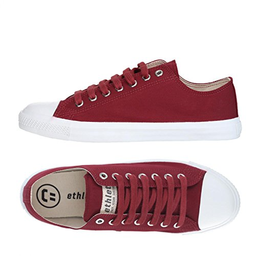 Ethletic Sneaker Vegan LoCut Collection 18 - Farbe True Blood/White Aus Bio-Baumwolle