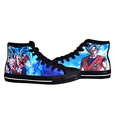4879a990639 Telacos Dragon Ball Z Son Goku Vegetto Cosplay Shoes Canvas Shoes Sneakers  3 Choices