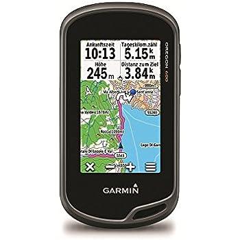 Black Garmin Oregon 600 GPS Handheld Hiking Terrain Navigator