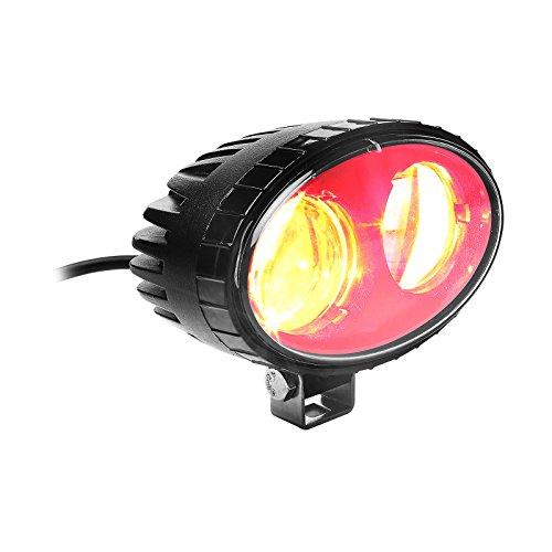 AOMAX LED Forklift Safety Light Spot Light Warehouse Pedestrian Safe Warning Light, 9V - 60V LED, 8W, CREE LED, RED (Red Forklift Light)