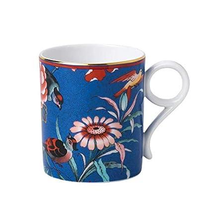 Amazon.com: Wedgewood Mug Paeonia Blush Blue - 0,2l: Kitchen ...