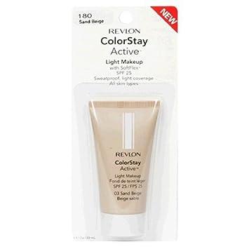 Revlon Colorstay Active Light Makeup, Sand Beige 1 fl oz 30 ml