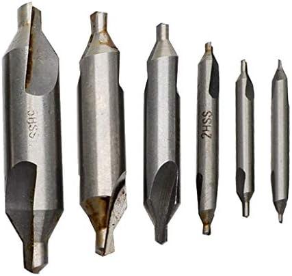 D DOLITY HSSセンター 旋盤加工ツール ドリル 1 / 1.5 / 2/3/4 / 5mm 金属 アクセサリー