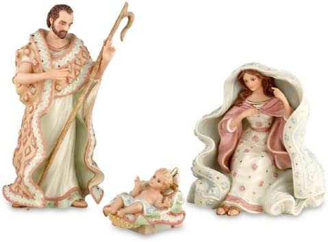 Lenox A King is Born Nativity-Holy Family