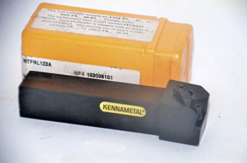 KENNAMETAL NJ2 MTFNL-123A LATHE TOOL HOLDER 3/4'' Shank