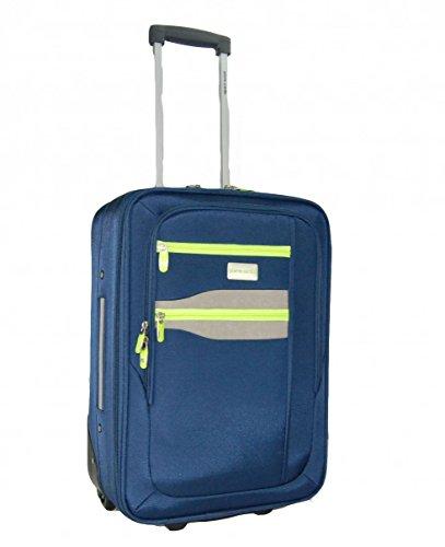 trolley cabin size pierre cardin blue compatible