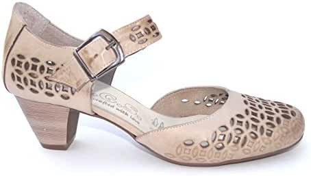 Ogswideshoes Donatella Beige Extra Wide Fit Sandal ,C D Width, 3e Width