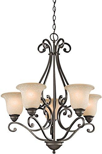 Kichler 43224OZ Camerena Chandelier 5-Light, Olde Bronze