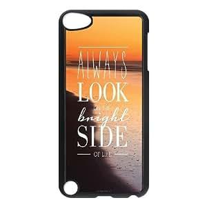iPod Touch 5 Case Black Bright Side Jojnf
