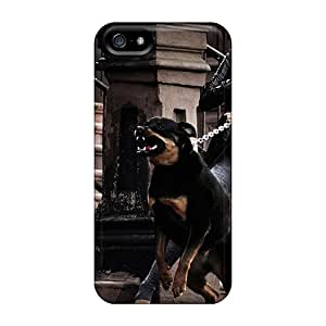 Defender Case With Nice Appearance (angry Rott) For Iphone 5/5s