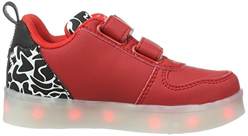 Enfant Red amp; Camo LED k03cam Ope 03cam Mixte Wize Baskets Rouge n76qSxOOw