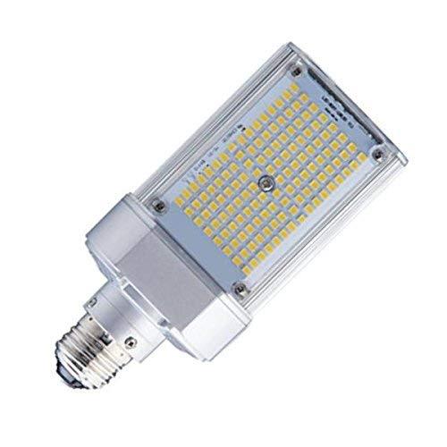 Light Efficient Design LED-8088M57-MHBC Shoe Box/Wallpack LED Retrofit Lamp Light, 50 Watt, MH Ballast Only, E39 Mogul Base, 6282 Lumens, 5700K ()