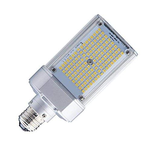 Light Efficient Design LED-8088M57-MHBC Shoe Box/Wallpack LED Retrofit Lamp Light, 50 Watt, MH Ballast Only, E39 Mogul Base, 6282 Lumens, 5700K Daylight (Probe Start Lamp In Pulse Start Fixtures)