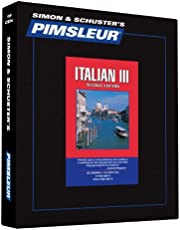 Pimsleur Italian Level 3 CD: Learn to Speak and Understand Italian with Pimsleur Language Programs (Volume 3)