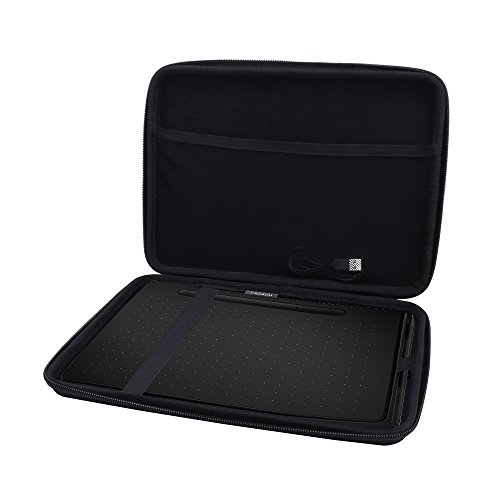 Hard Case for Wacom Intuos Medium Drawing Tablet fits Model # CTL6100 by Aenllosi by Aenllosi