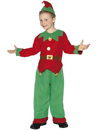 8aac357d2 Buy BABY AND BLOSSOMS Elf Costume Santa's Little Helper Christmas Fancy  Dress Online at Low Prices in India - Amazon.in