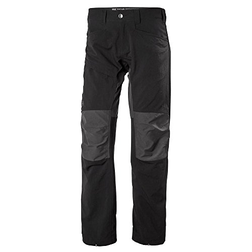 Helly Hansen Men's Vanir Active Outdoors Softshell Hybrid Pants, 990 Black, Large