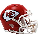 Riddell Kansas City Chiefs Revolution Speed Mini Football Helmet - NFL Mini Helmets