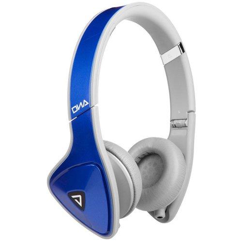Monster DNA On-Ear Headphones, Cobalt Grey (Monster Dna Noise Isolating On Ear Headphones)