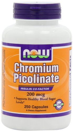 NOW Foods Chromium Picolinate 200mcg, 250 Capsules, Health Care Stuffs