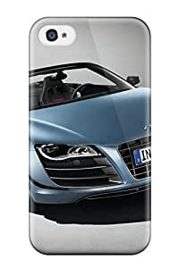 Hot Tpu Cover Case For Iphone/ 4/4s Case Cover Skin - Audi R8 Spyder 5