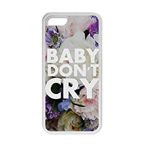 Baby don;t cry flowers personalized high quality cell phone Ipod Touch 5