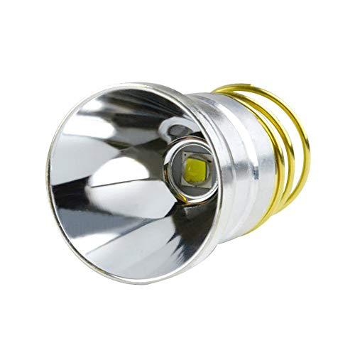 Ultra Bright New Cree XM-L2 LED Bulb 3 Mode 800-1000Lumens 3.0-18V, Flashlight Bulb LED Conversion Upgrade, MADINCN Flashlight Parts, Drop-in P60 Design Module for Surefire Hugsby C2 G2 Z2 6P 9P G3 S3 (6p 9p Flashlight)