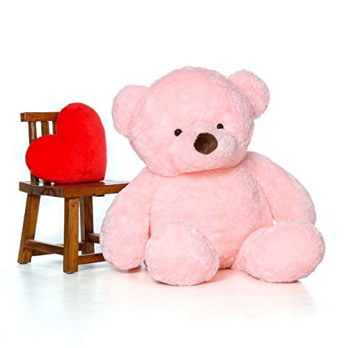 Giant Teddy Original Bear Brand - Biggest Selection of Life Size Stuffed Teddy Bears (Cotton Candy Pink, 5 Foot)