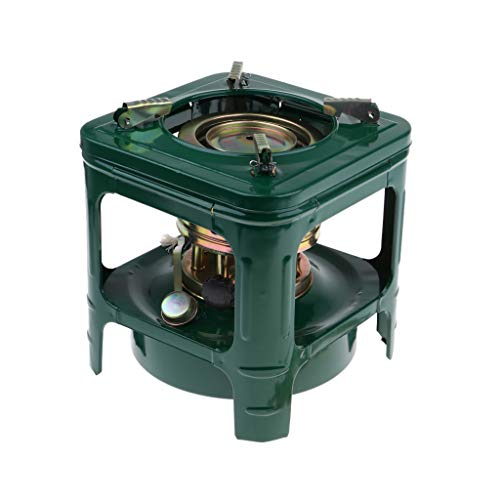 CUTICATE 8 Wicks Kerosene Burner Camping Stove, Backpacking Stoves Lightweight - Strong Firepower