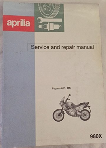 Aprilia Service and Repair Manual Pegaso 650 980x ()