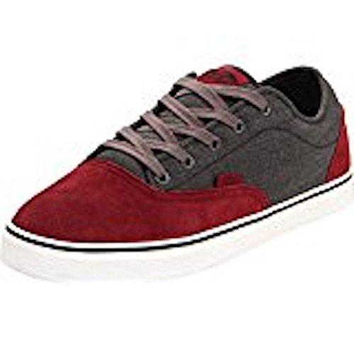 Vans Men AV ERA 1.5 Skateboarding Sneakers Shoes (6.5, Oxblood Dark/Grey) (Era Vans Av)