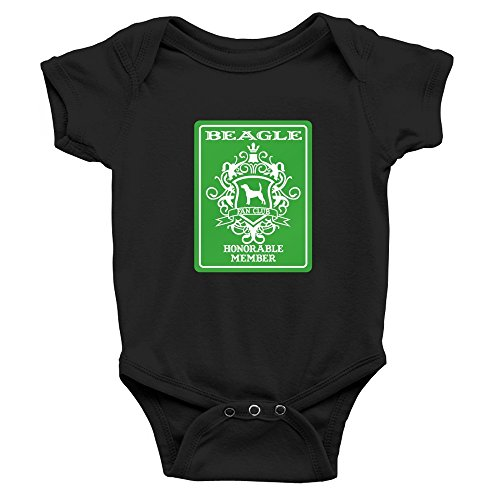 Teeburon Beagle Fan Club Honorable Member Baby (Beagle Fan)
