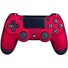 DualShock 4Controladores inalámbricos para PlayStation 4–PS4Mando a Distanciatáctil –Un mayor agarre para largas sesiones de juego–varios colores disponibles Rojo