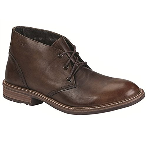 7 Boot Pilot (Naot Footwear Men's Pilot - Hand Crafted Brown Gradient Leather Boot 40 (US Men's 7) M)