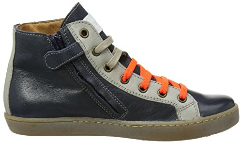 Froddo  Froddo Unisex Ankle Boot Blue G3110078, Sneakers Hautes mixte enfant - bleu - Bleu (Bleu), 34 EU