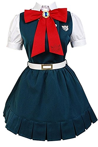 Price comparison product image Super Danganronpa 2: Sayonara Zetsubo Gakuen Sonia Nevermind Cosplay Costume (Blue, Women:X-Small)