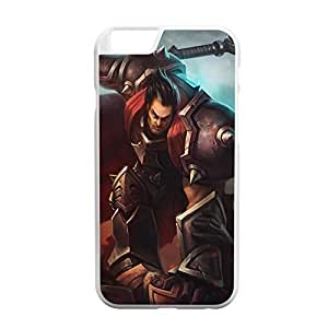 Personality customization Darius-001 League of Legends LoL case cover for Apple iPhone 6 Plus - Plastic White by mcsharks
