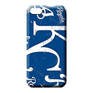 MMZ DIY PHONE CASEipod touch 5 Shock Absorbing Protection Forever Collectibles phone cover case kansas city royals mlb baseball