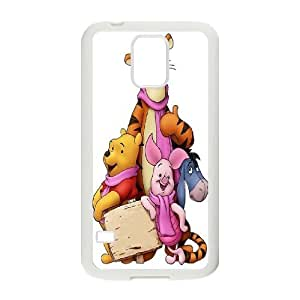 [bestdisigncase] For Samsung Galaxy S5 -Winnie The Pooh Pattern Design PHONE CASE 6