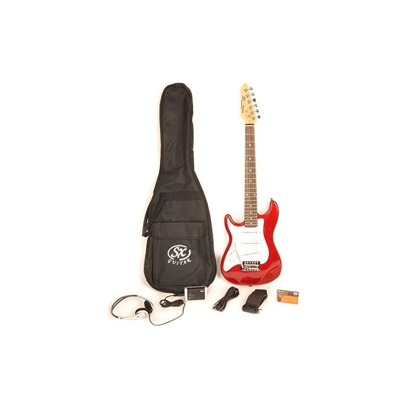 Left Handed Electric Guitar 1/2 Size (34
