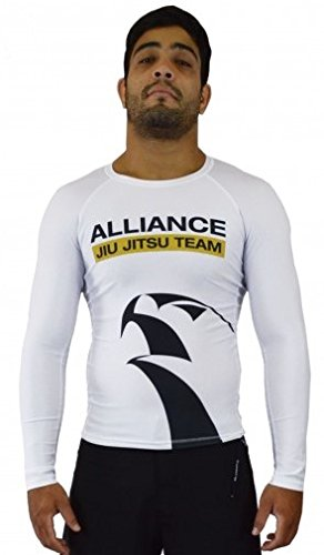 KEIKO SPORTS Alliance Rashguard L/S - White - Large