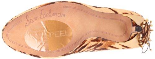Evan Sam clásicos cuero Zapatos Beige 17 mujer de Edelman para ggRq5Up