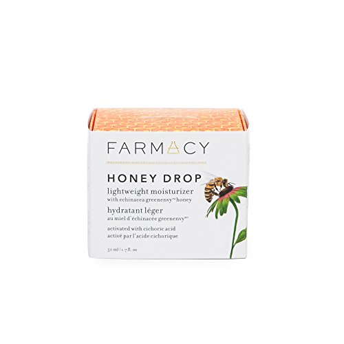 Farmacy Honey Drop Lightweight Moisturizing Cream – Natural Hydrating Face Moisturizer