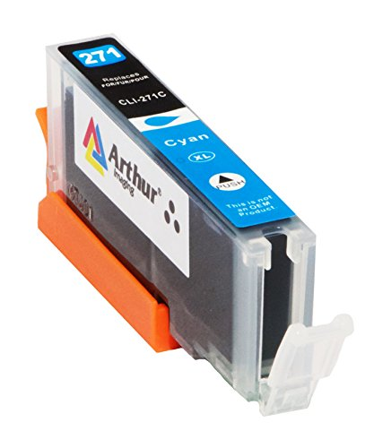 6 Pack Arthur Imaging Compatible Ink Cartridge Replacement for 270XL 271XL (1 Large Black, 1 Small Black, 1 Cyan, 1 Yellow, 1 Magenta, 1 Gray, 6-Pack) Photo #4