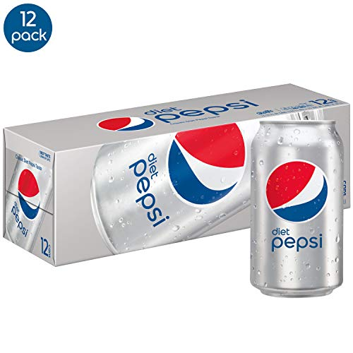 Diet Pepsi Cans, 12 FlOz, 12 Count ()