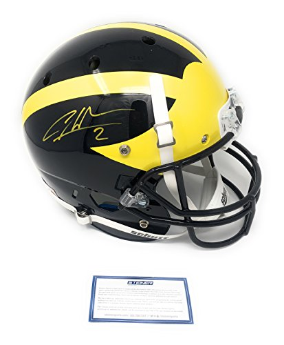 (Charles Woodson Michigan Wolverines Signed Autograph Full Size Helmet Steiner Sports Certified)