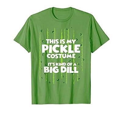 Pickle Halloween Costume Shirt Easy Funny Women Men Kids