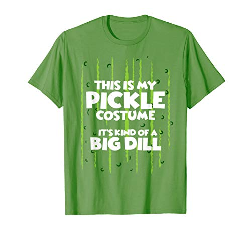 Pickle Halloween Costume Shirt Easy Funny Women Men Kids -