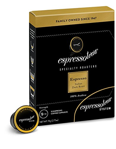 Espressotoria Espresso Coffee Capsules (Pack of -